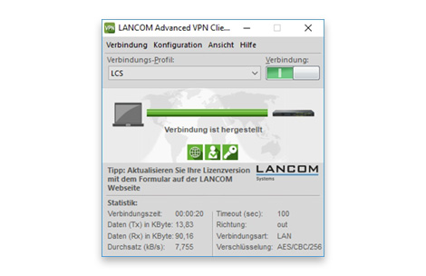 lancom advanced vpn client